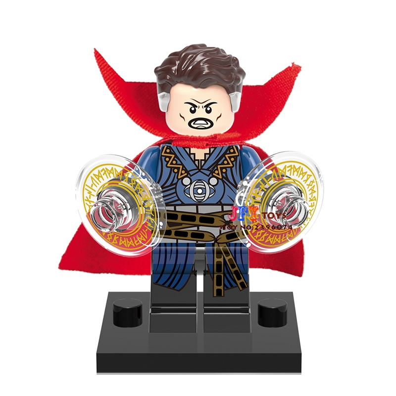 Single Sale star wars superhero Doctor Strange movie building blocks model bricks toys for children brinquedos menino original factory big sale child muscle thor movie avergers superhero costume