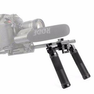 Image 4 - SmallRig Camera Hand Grip Handles for Dslr 15mm Shoulder Rig System Dslr Cameras Follow Focus   0998