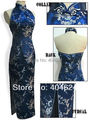 Freeshipping!Wholesale Charming Elegant Vintage Chinese Sexy Women's Long Dress Evening Party Cheongsam Dress Size S--XXXL For Y