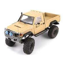 Killerbody LC70 1/10 Land Cruiser 70 Hard RC Auto Carrosserie Kit Fit Voor Traxxas TRX4 Chassis RC Auto Onderdelen onderdelen Accessoires(China)