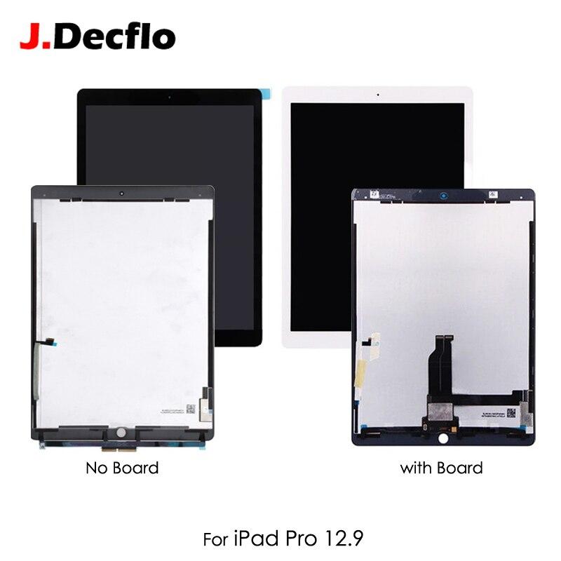 Tablette LCD affichage pour iPad Pro A1652 A1584 12.9 pouces assemblage écran tactile panneau avec petite carte noir blanc ML0F2LL EMC2827