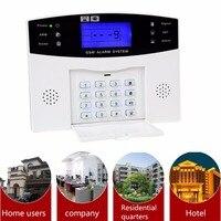 YA-500-GSM Home Security System Alarmowy gsm Alarm Host z LCD zadzwoń do Obrony Włamywacz Intruder 7 Przewodowy I 99 Bezprzewodowe strefy