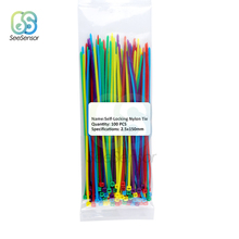 Fasten Cable-Ties Self-Locking Nylon Plastic 100pcs/Bag Mix