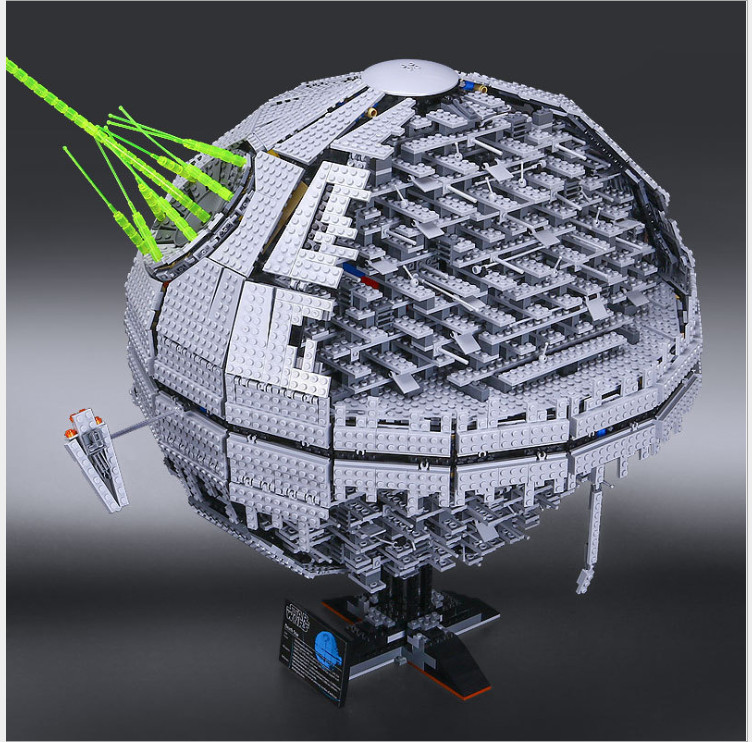 LEPIN 05026 death Star Wars compatible legoing Death star 10143  war The second generation Star Building Block Bricks Toys in stock lepin 05035 3803pcs genuine star wars death star educational building block bricks toys kits compatible with j35000