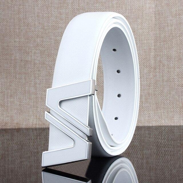 2017 nueva Alta Calidad del Mens cinturones de Marca de Moda de Lujo para Hombre de cuero genuino correas diseñador wawaisband niños shippiing libre