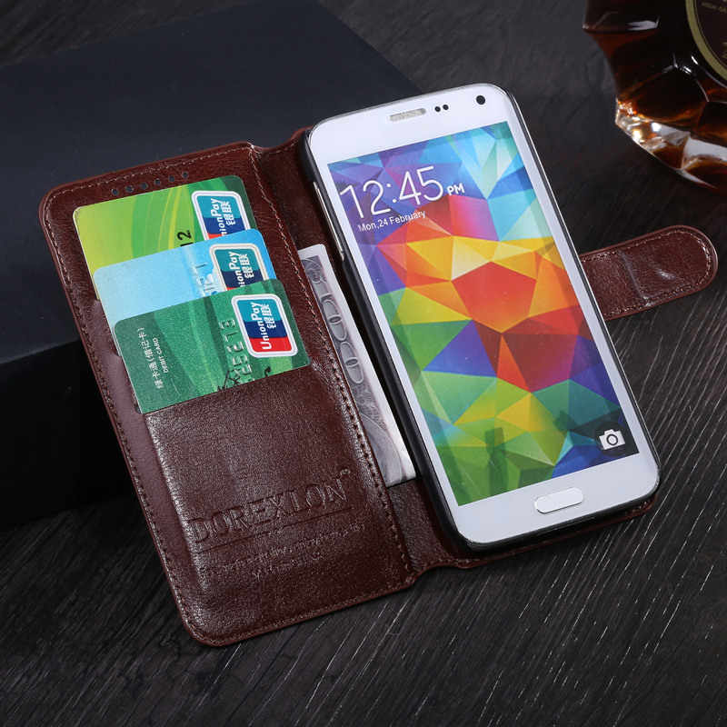 the best attitude 4deb2 5215e Luxury Fundas Case For Sony Xperia E1 D2004 D2005 D2104 D2114 D2105 Phone  Wallet Leather Flip Cover Bags Skin Cases For Sony E1