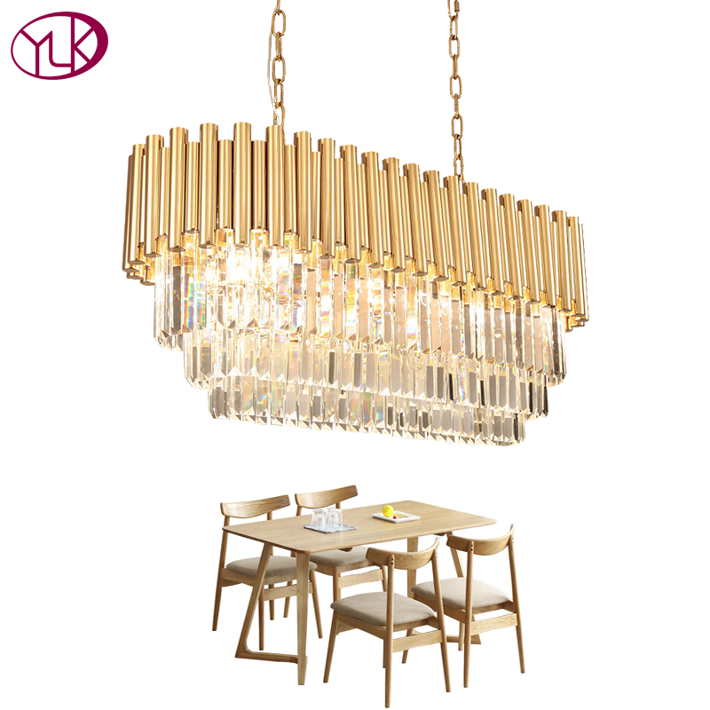 Upscale Lighting Fixtures: Youlaike Modern Crystal Chandleier Luxury Indoor Lighting
