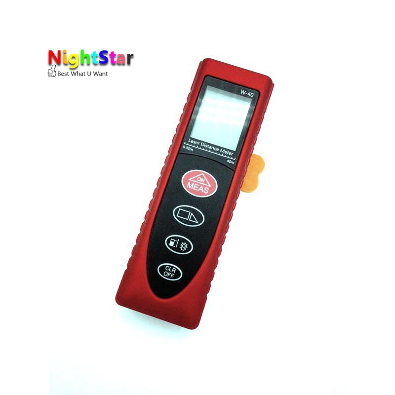 40m Mini Digital Laser distance meter Rangefinder Range finder Tape measure Area/volume tool sndway sw e40 rree shipping rz40 131ft laser rangefinder 40m distance meter digital laser range finder tape area volume angle