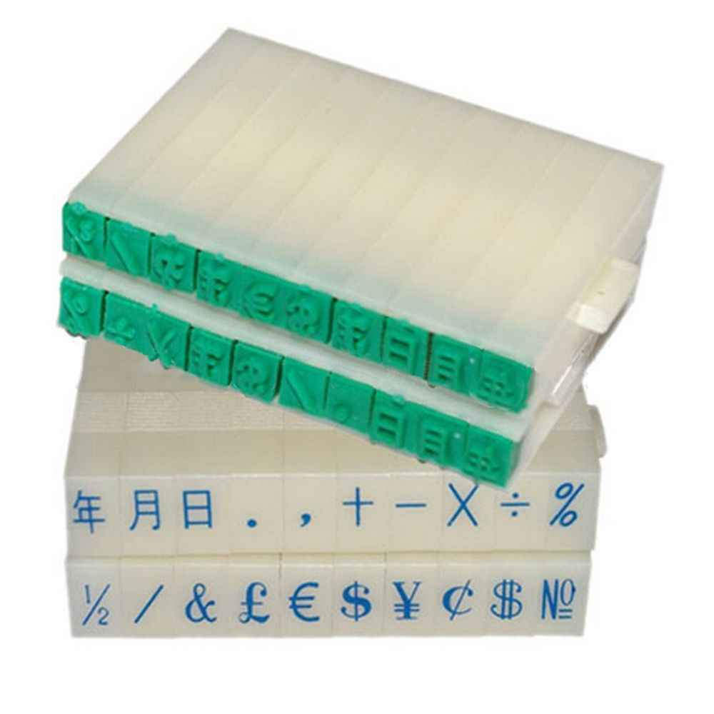 MINI DIY กระดาษ Work ไดอารี่อัลบั้มงานแต่งงานตัวอักษรแสตมป์หมายเลขดิจิตอลสัญลักษณ์ตราสัญลักษณ์ Seal Chapter ผสมหมึกพิมพ์