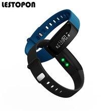 Lestopon Мода Smart Band SmartBand Водонепроницаемый браслет с крови Давление сердечного ритма сна трекер Шагомер для телефона