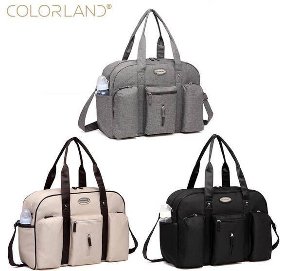 Colorland Baby Diaper Bag Organizer Large Mom Messenger Nappy Bags Fashion Mummy Maternity Bag Brand Mother Maternity Handbag 2014 sale colorland baby diaper bags set multifunctional fashion nappy bag large capacity double shoulder maternity cross body