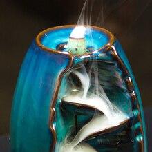 Waterfall Backflow Incense Burner (10 Free Cones)