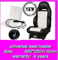 upgrade seat heated cushion car heated carbon fibre Interior warm original Seat Cover heater with round swtich Automobiles 12v