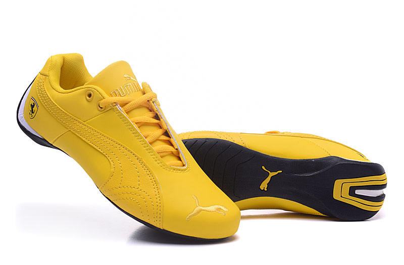 the best attitude 1526b 2c4a6 Free shipping New arrive Puma yellow Suede Creepers men shoes Breathable  Badminton Shoes Sneakers size 40-44