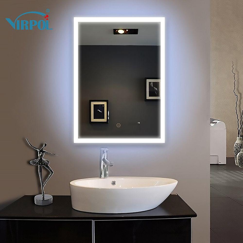 90 240 V 50X70 cm bad spiegel Rahmen led beleuchtet gerahmte bad ...