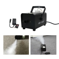 Mini 400W Remote Control Smoke Fog Machine For Stage Lighting Show Wedding Atmosphere Effect SM W400