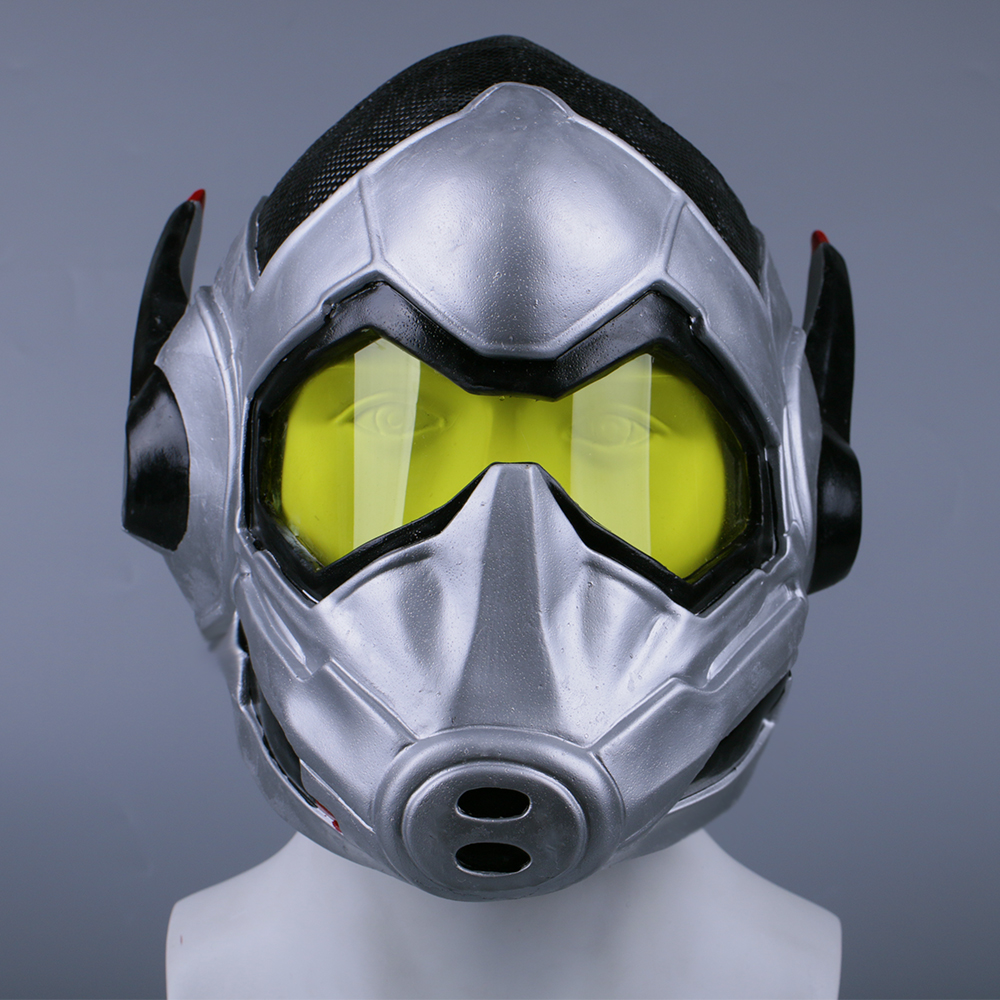 Ant-Man and the Wasp Full Face Helmet Wasp Mask Cosplay Latex Hood Halloween Cos