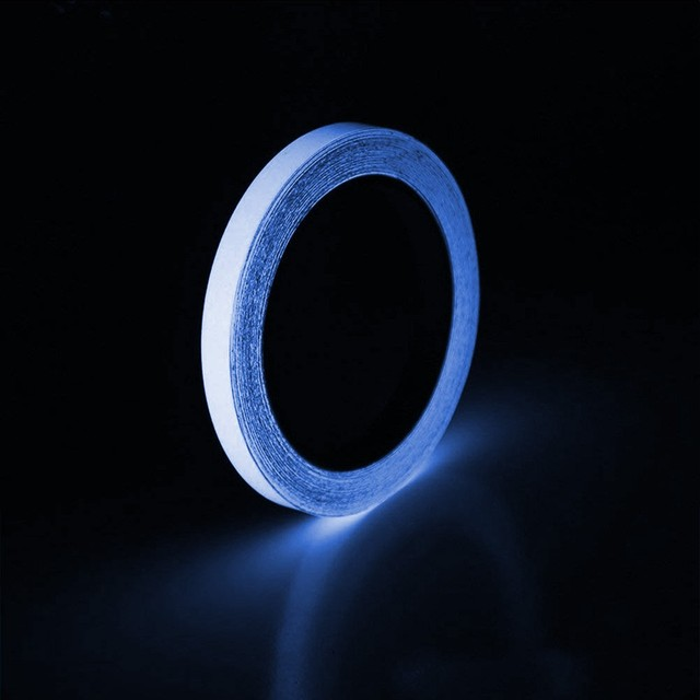 Luminous Tape Self-adhesive Glow In The Dark Safety Stage Home Decorations glass fiber reinforced plastic waterproof