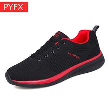 Fall 2019 Best-selling Couple Mens Black Mesh Breathable Lace With Soft Bottom Cross-border Fitness Leisure Light Running Shoes