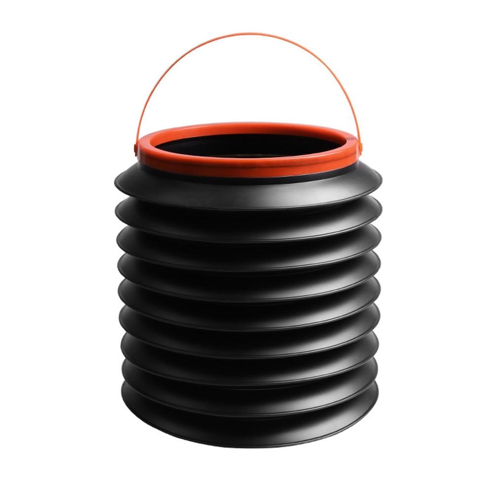 Bucket Organizer Storage-Box Trash-Bin Gargage-Holder Rubbish Foldable Auto-Car Universal