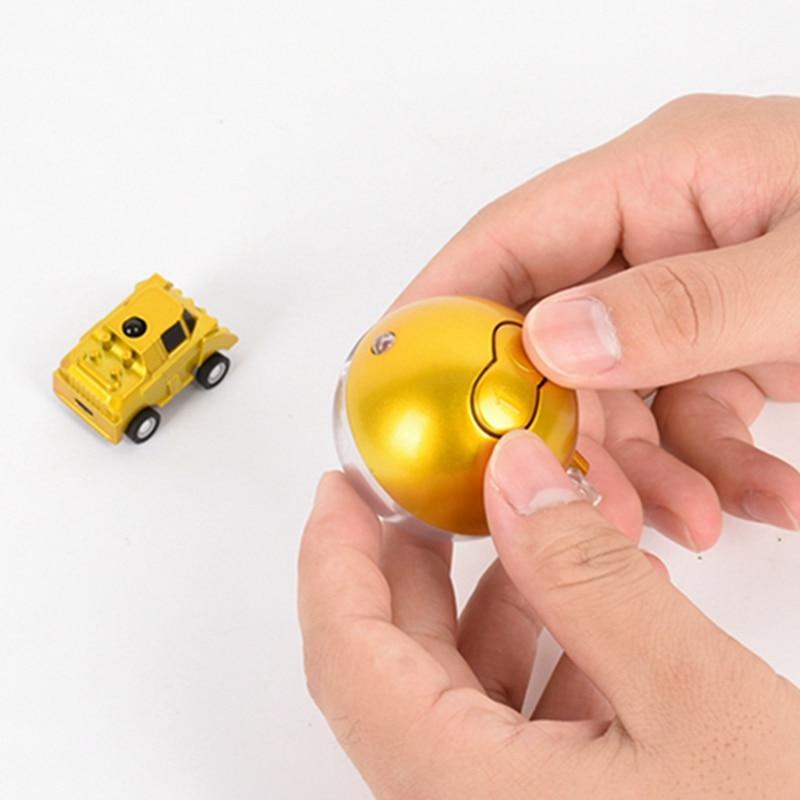 New Christmas ball plastic Mini Speed Radio Remote Control Racing Car Toy Super Mini Remote Control