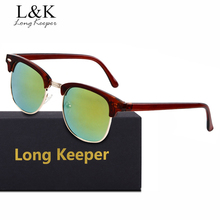 Long Keeper New Arrival Semi Rimless Sunglasses In