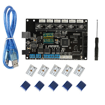 Motherboard Set 3D Printer Motherboard Compatible for TriGorilla Mega2560 RAMPS1.4 NK-Shopping