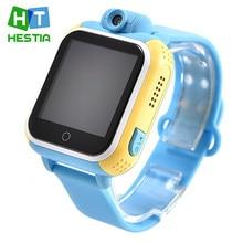 Hestia niños gps smart watch q730 3g wifi de la pantalla táctil reloj para el Bebé GPRS Localizador Rastreador Niño Reloj para IOS Android