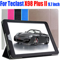 10X Luxury PU Leather Case Flip cover for Teclast X98 Plus II 9.7 inch tablet pc case for X98 PLUS II TL11
