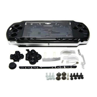 For Sony PSP 2000 Full Housing Case Complete Shell Case Replacement Buttons Kit Cover Case Parts