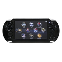 X9 S 5.1Inch Screen Handheld Game Player 8G 10000 Games Tv Output With Mp3/Movie Camera Multimedia Video Retro Mini Game Conso