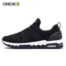 ONEMIX Max Erkekler koşu ayakkabıları Kadınlar üzerinde Kayma Trail Yumuşak Rahat Eğitmenler Loafer'lar Spor Boot Minder Açık Yürüyüş Sneakers