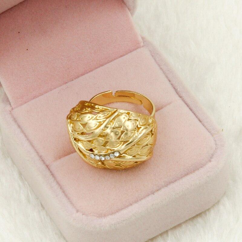 2019 New Fashion Dubai Design Crystal Jewellery Gold Bracelet