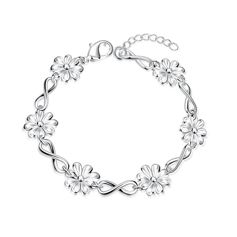 Bracelets & Bangles Fashion Style Surou Western Spring Lady New Style Tree Of Wisdom Bracelet By Hand Ornaments Bijouterie Boho Street Snapshots Chain & Link Bracelets