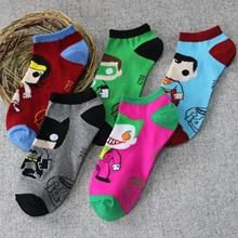 new men and women socks all match contact cartoon villain the Joker couples socks socks