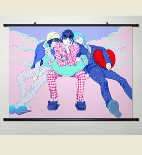 Home Decor Japanese Wall poster Scroll Dramatical Murder DMMd Seragaki Aoba 078