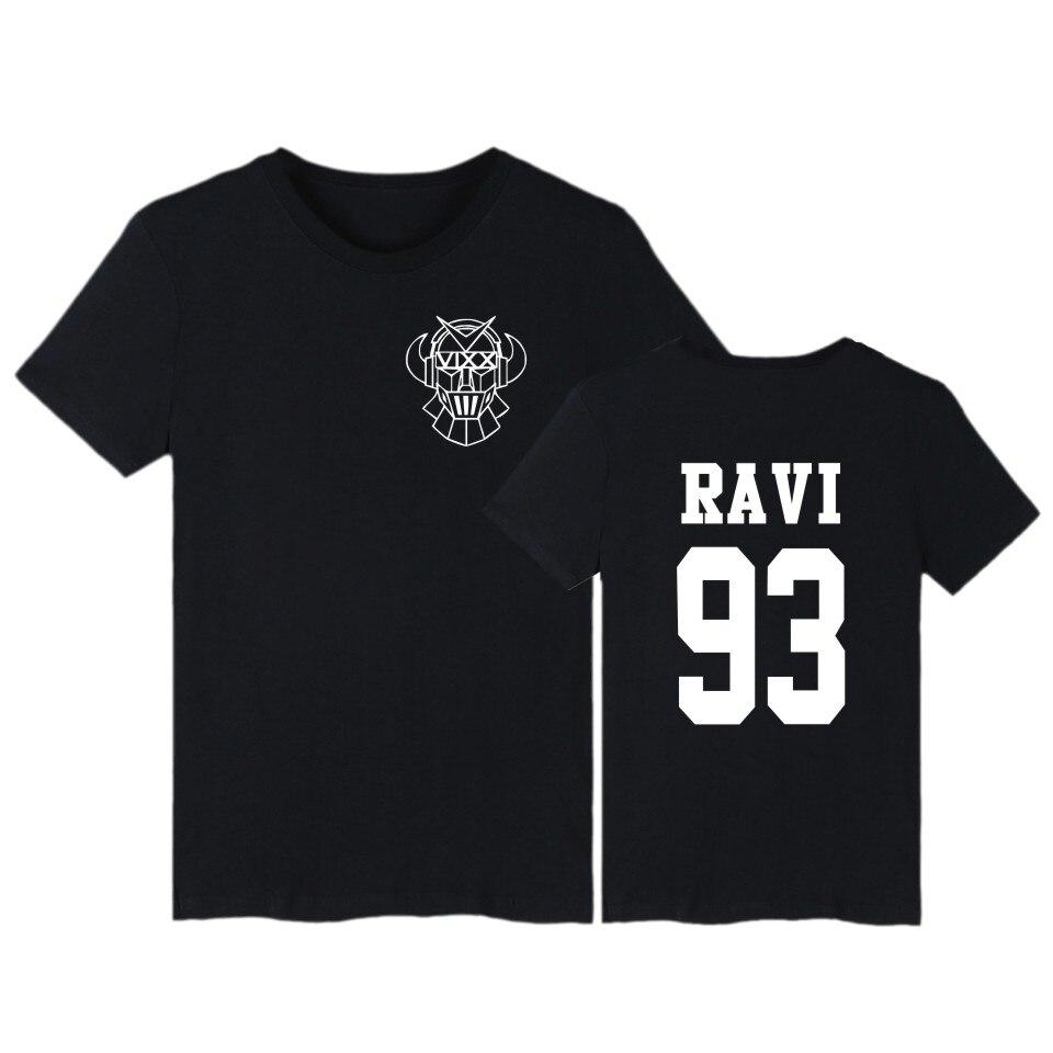 Ամառային Kpop Vixx T shirt կարճ թև ST RLIGHT Harajuku - Կանացի հագուստ - Լուսանկար 4