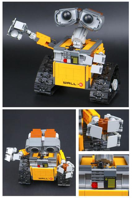Online Shop Lepin 16003 Idea Robot Wall E 21303 Toys Model Building