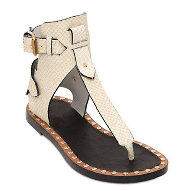 Europea Zapatos Moda Romano Remaches Mujer Tacones Estilo Gruesos De 7rS7wPxq