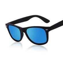 2017 Fashion Sunglasses Men Sunglasses Men Driving Mirrors Coating Points Black Frame Eyewear Male Sun Glasses