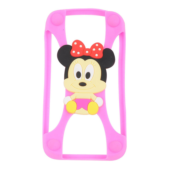 Cartoon Stitch Minnie kitty Bear Frame Bumper Phone Case For Iphone 4 5 S 6 Cover For All Phone 4.7 inch