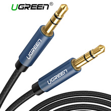 Ugreen 3.5mm Jack Audio Cable Gold Plated 3.5 mm Male to 3.5mm Male Aux Cable for iPhone Car Headphone Speaker Auxiliary Cable