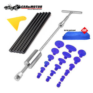 paintless Dent Car Dent Repair Puller Kit Suction Cups