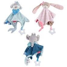 Детское мягкое плюшевое мягкое полотенце для сна, мягкое полотенце, успокаивающее полотенце, детские плюшевые игрушки
