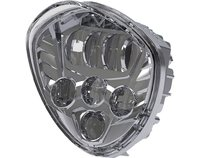 Victory Motorcycles Cross Series LED Headlight Kit Fits 2007 2015 Cross Country Tour, Cross Country, Cross Roads and Hard Ball
