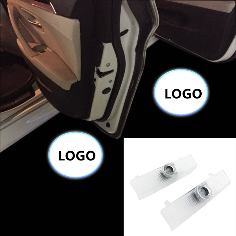 LED car Door Courtesy Ghost Shadow Logo welcome Lights For New Teana For Maxima Altima AMADAR QUEST