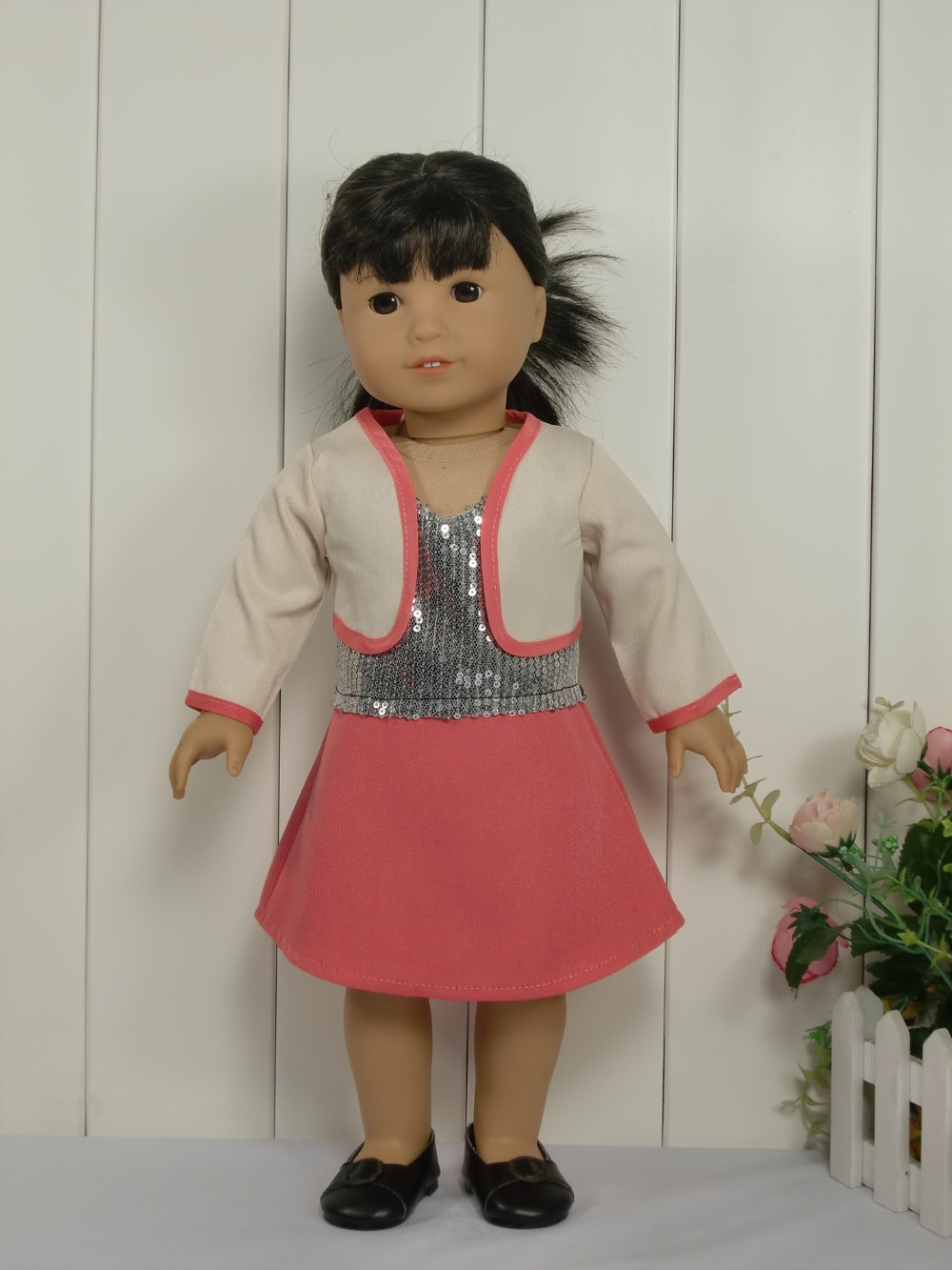 18 Inch Doll Clothing/Clothes 3 pcs A Set Fits American Girl Dolls and Other 18 inch Girl Dolls ...