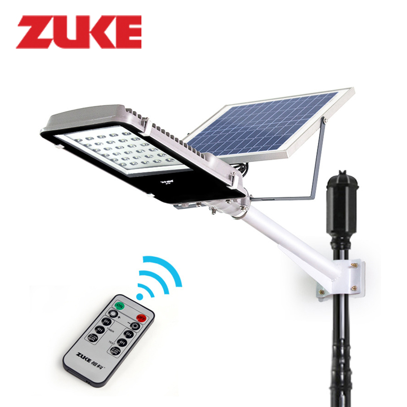 Remote Control Street Light 20w Solar Panel Powered30 Leds Outdoor Garden Path Wall Emergency