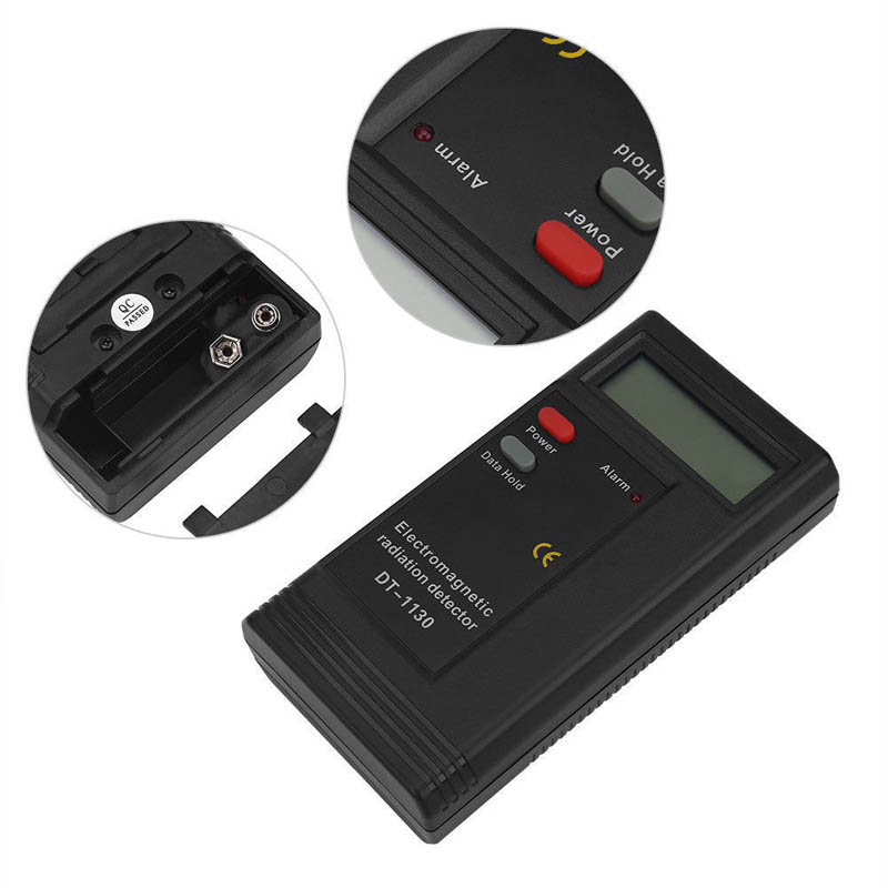 Electromagnetic Radiation Detector Far Away From Radiation EMF Meter Tester