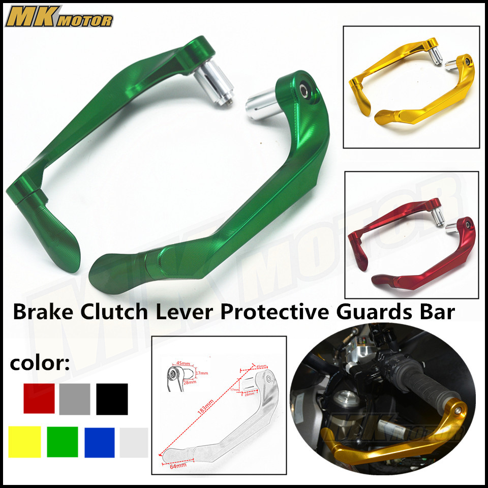 CNC For KAWASAKI Z650 Ninja650 2017 Brake Clutch Lever Protective Guards Bar Ends Motorcycles 7/8